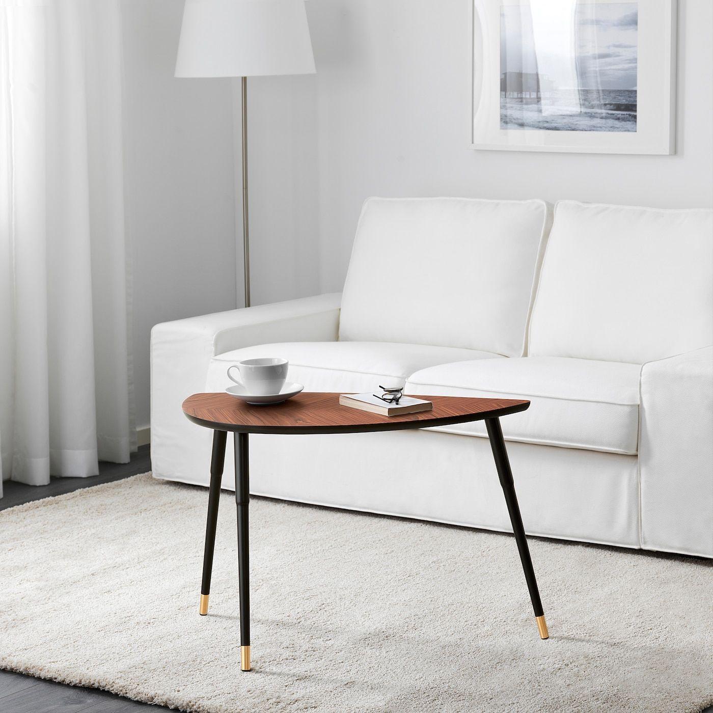 """LÖVBACKEN Side table medium brown 30 3/8x15 3/8 """" in"""