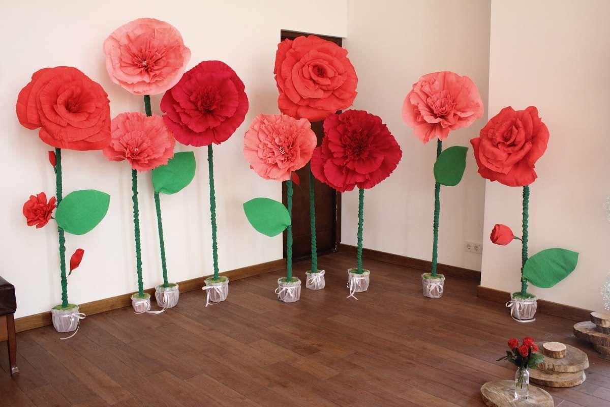 Цветы из цветной бумаги своими руками пошаговая фото 118