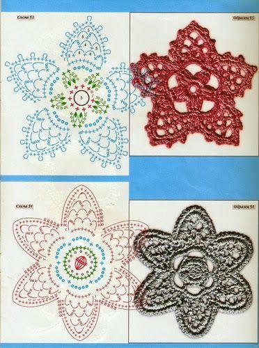 Crochet Irish Lace Irische Spitze Häkeln Blumen Häkeln Und