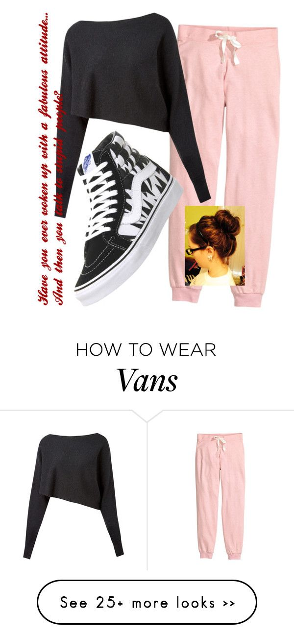 """""""Please Let Me Go Back To Bed"""" by abby-deaton on Polyvore featuring H&M, Crea Concept and Vans"""