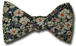 Liberty of London Alice W Daisies Bow Tie