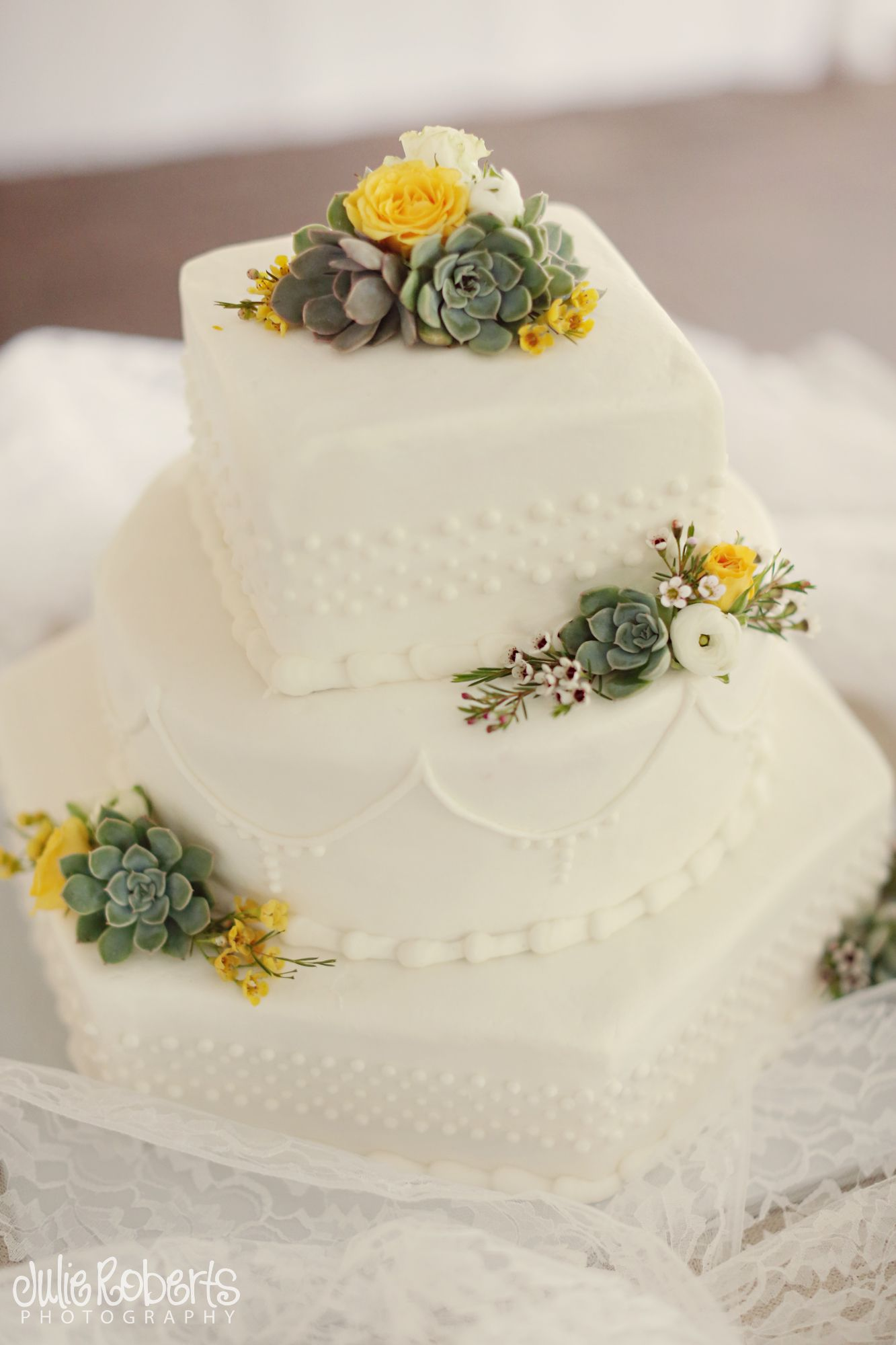 succulents on cake | Sassafras Flowers | Pinterest | Wedding and ...