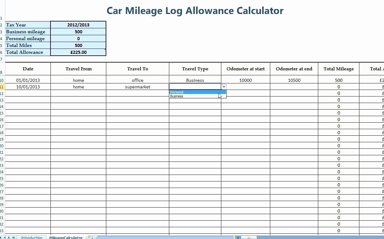 Mileage Log For Taxes Template In 2021 Professional Templates Spreadsheet Template Mileage Example mileage log for taxes