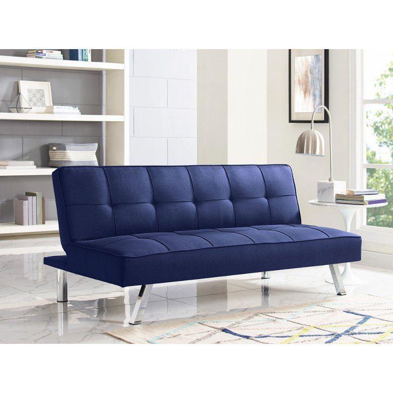 Navy Blue Serta Convertible Sofa Bed Carly Convertible Sofa Bed Convertible Sofa Futon Sofa