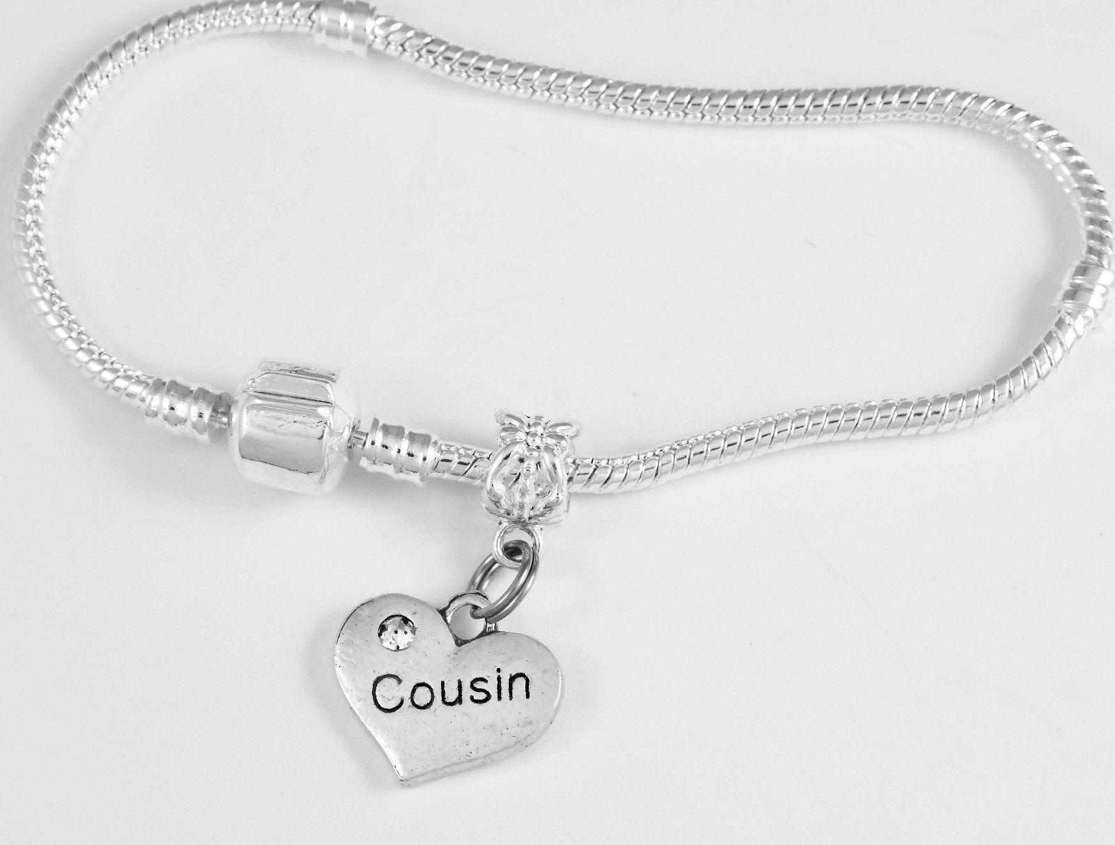 Cousin Bracelet Gift Cousins Jewelry Bangle Charm Best