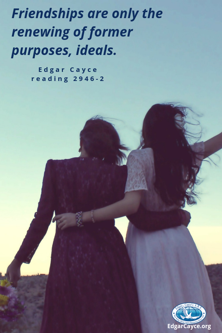 Help us spread Edgar Cayce's message and tell us what you