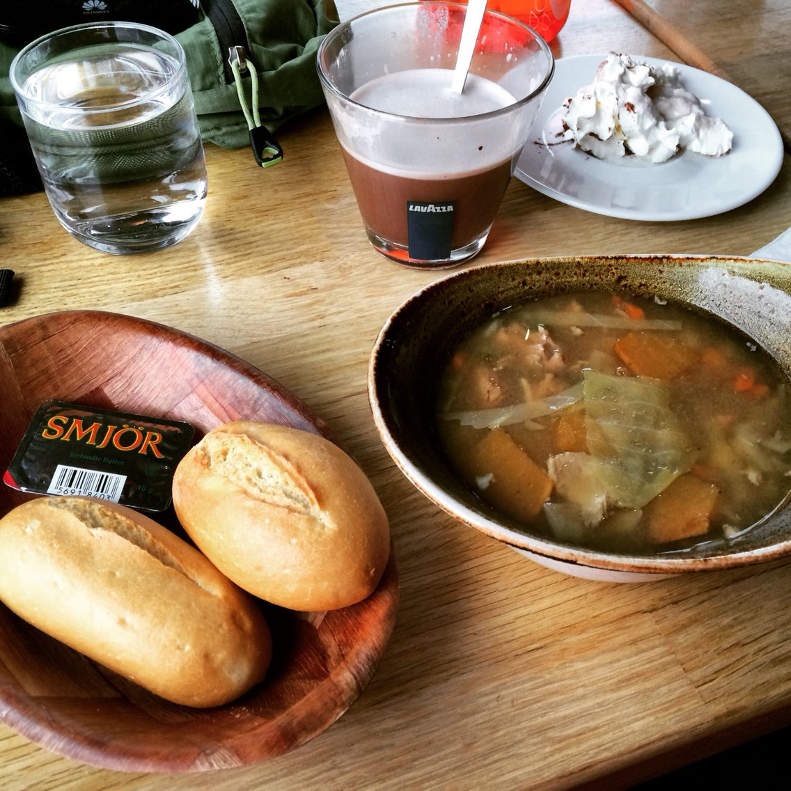 Icelandic meat soup