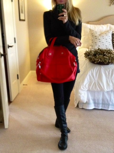 5c48884d77 My new red Givenchy Nightingale! I m Obsessed!!