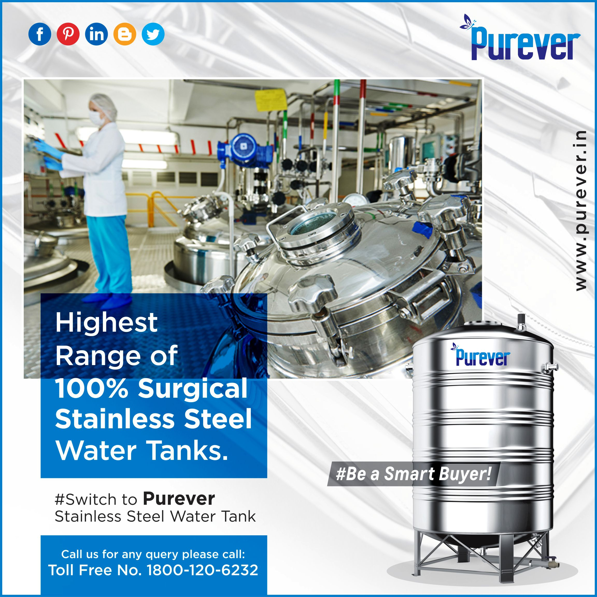 India S Widest Range Of 100 Surgical Stainless Water Tanks For Complete Hygienic Water Storage Solutions 1800 120 Steel Water Tanks Water Tank Steel Water