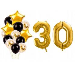 19 99zl Zestaw Balonow Na 30 Urodziny Trzydziestke Zloty Party Brooch Jewelry