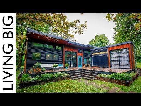 This Modern Tiny House Is Truly A Musicians Dream Home