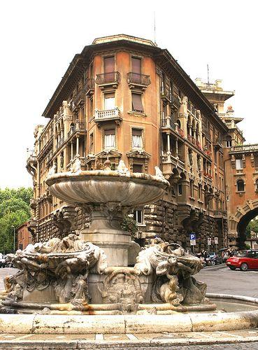 Fuente de la Rana. Roma Italia