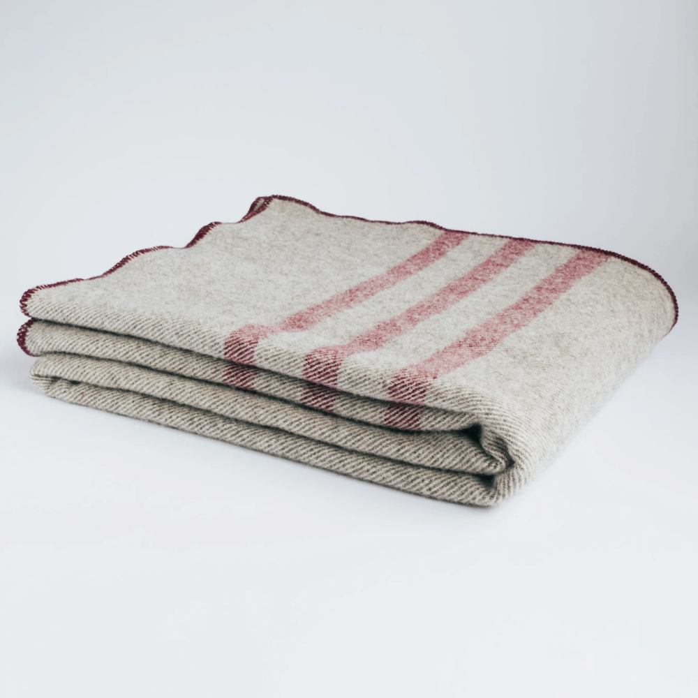 Pure Wool Cabin Blanket in 2020 Pure products, Blanket, Wool