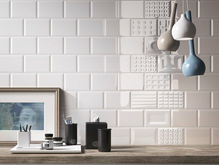 Indoor faïence wall tiles cento per cento by cooperativa ceramica d