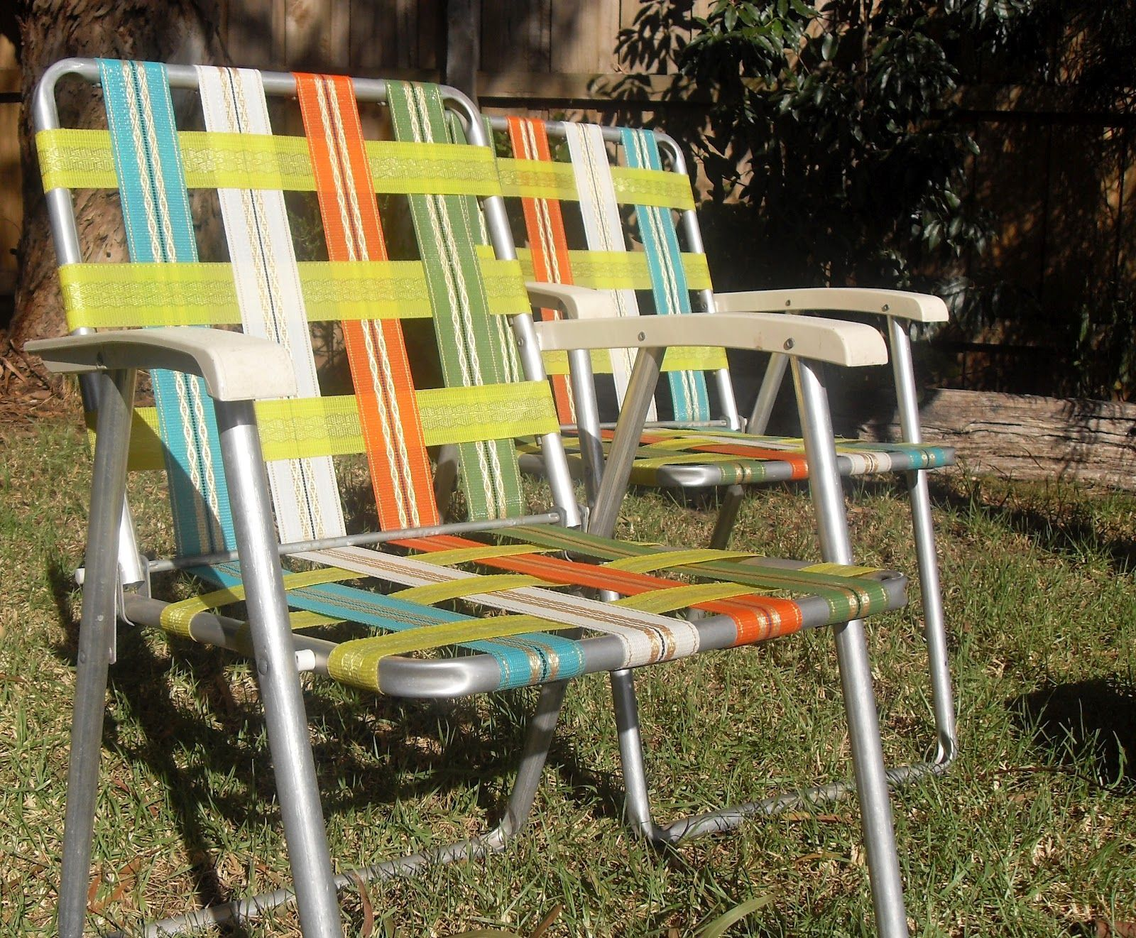 Retro outdoor chairs -