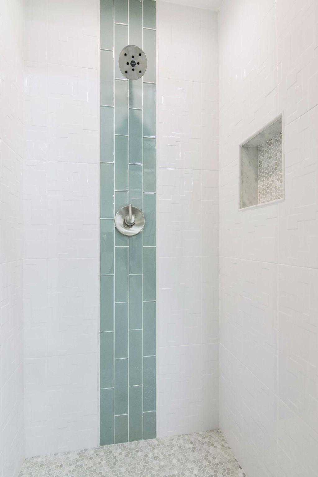 Gorgeous 85 Beautiful Bathroom Shower Tile Decor Ideas https ...