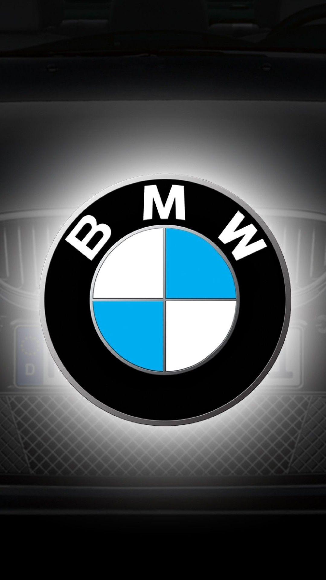 Bmw Logo Grey Blue Car Smartphone Wallpaper And Lockscreen Hd