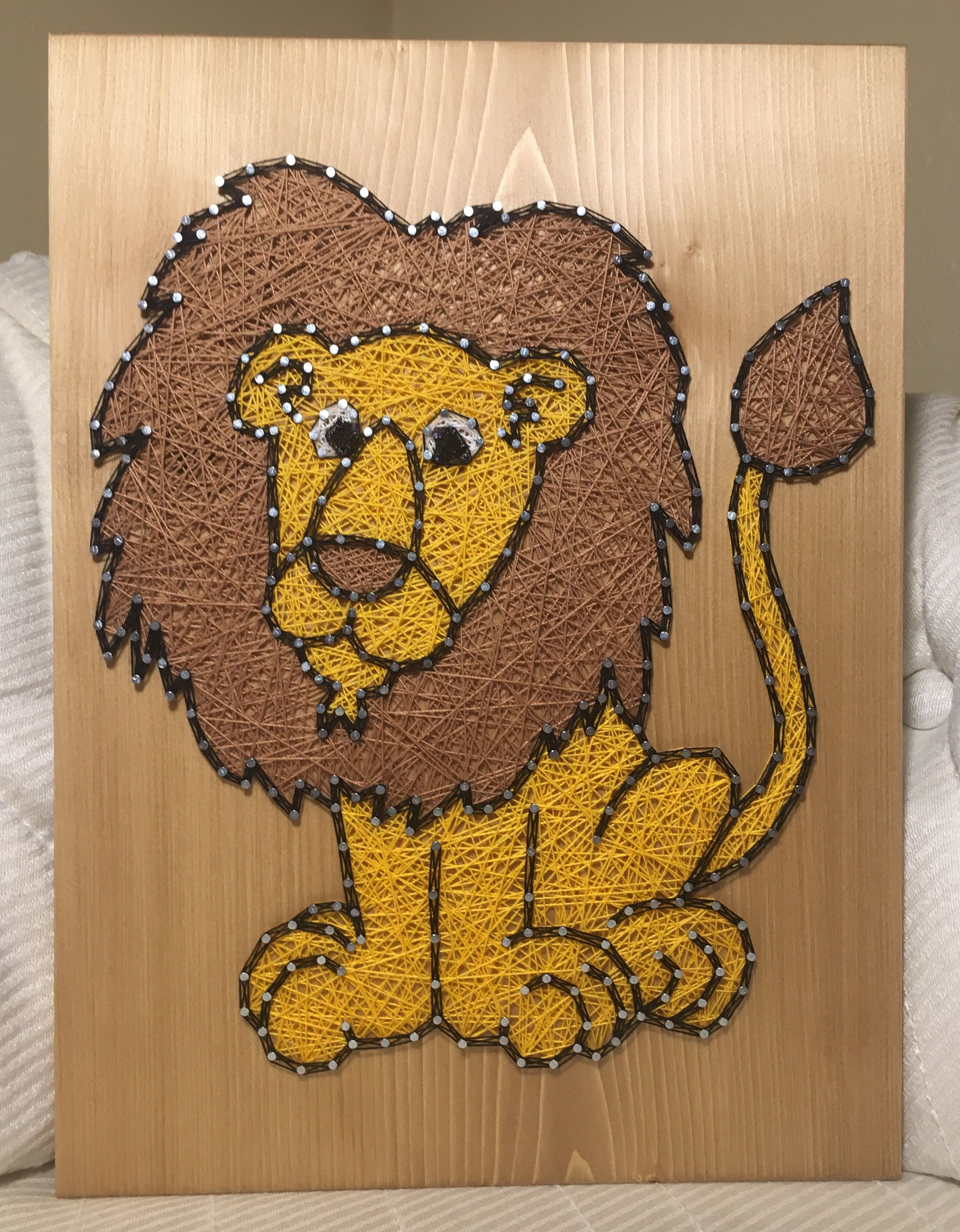 Lion String Art Jungle Animals order from