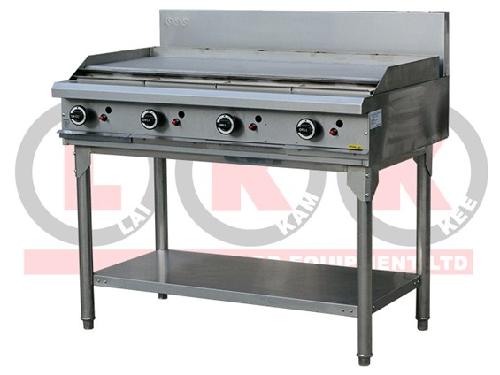 LKK Gas Griddle Hot Plate 1200mm Wide Commercial kitchen