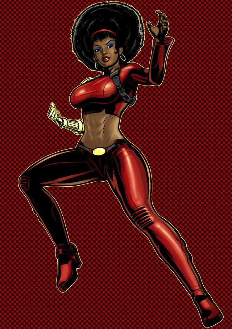 I would love this cosplay this! Misty knight Misty