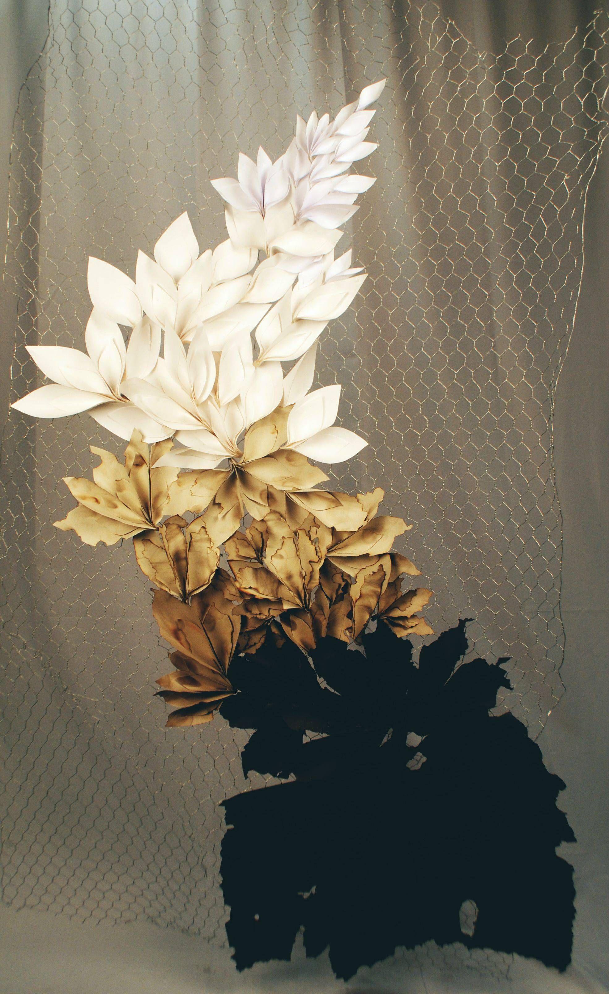 Paper flower sculpture pinterest flower paper sculptures and paper flower sculpture mightylinksfo