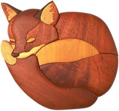 Pin by Deb Frank - Frank's Stuff on Foxy | Intarsia wood ...