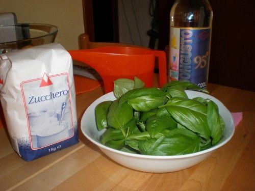 Liquore al basilico liquori sciroppi ed infusi pasta for Cucinare juicer