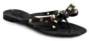 7560782b1bda Valentino Rockstud Jelly Thong Sandals http   shopstyle.it l 93o