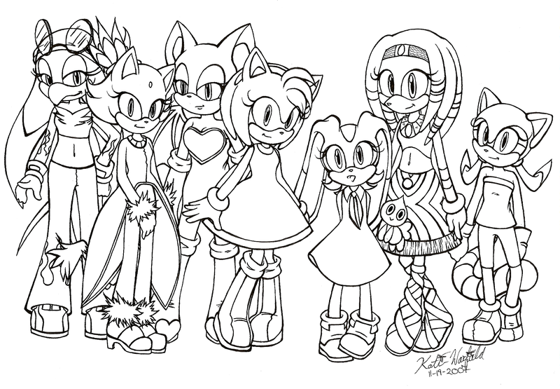 Pin By Mariiblue On Sonic Coloring Pages Color Free Printable Coloring Pages