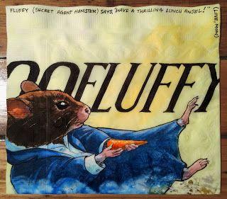 Daily Napkins: Hamster Bond in Skyfall Poster