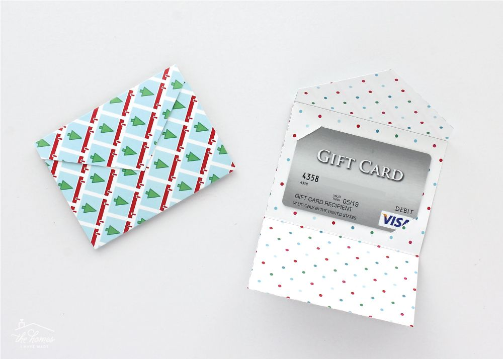 Diy Gift Card Holders With Printable Template Gift Card Holder Template Gift Card Presentation Gift Card Holder