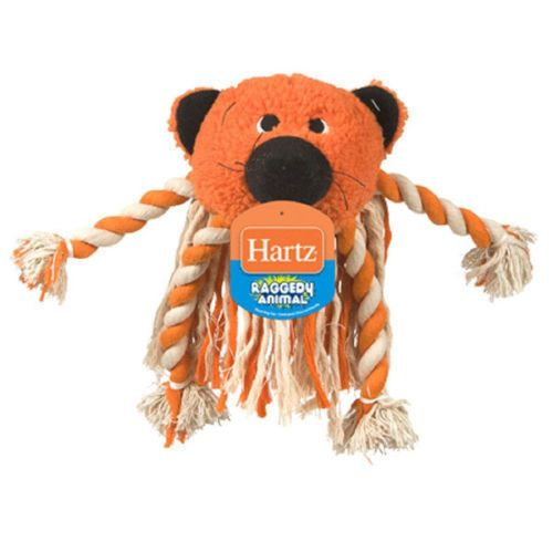 Dog Toy Hartz Raggedy Animal Plush free shipping (With
