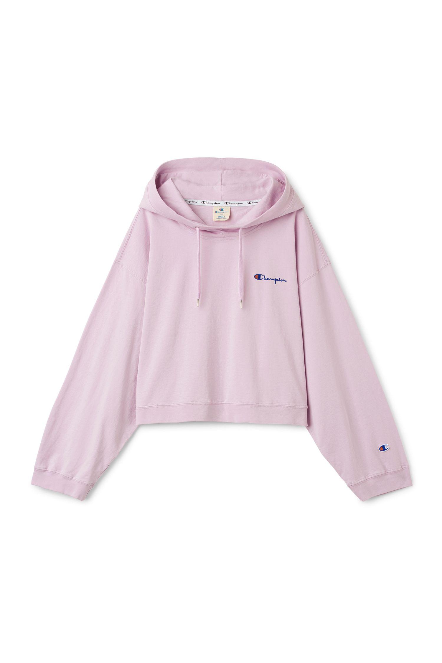 Weekday Image 9 Of Dash Cropped Hoodie In Pink Light Tailored Clothes Cropped Hoodie Sweatshirts Hoodie [ 2250 x 1500 Pixel ]