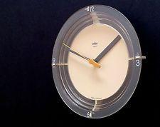 Vintage BRAUN ABW 21 quartz wall clock by Dietrich Lubs, 1987