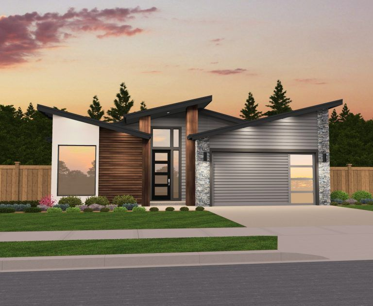 Butterfly Roof House Small Modern House Plans Shed Roof Design Modern House Plans Open Floor