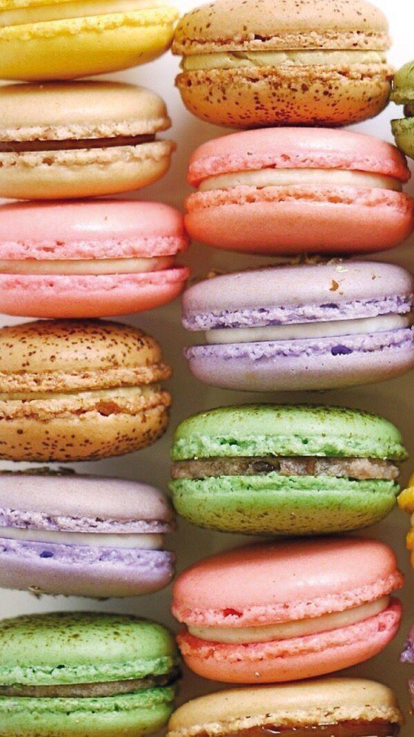 Macaron Iphone 6 Wallpaper Fondos Para Cel Alimentos Disenos De Unas