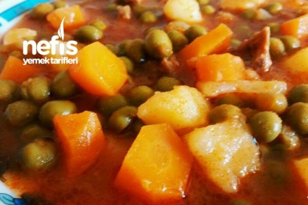 Photo of Meat Pea Dish (Carrot with Potato) – Delicious Recipes