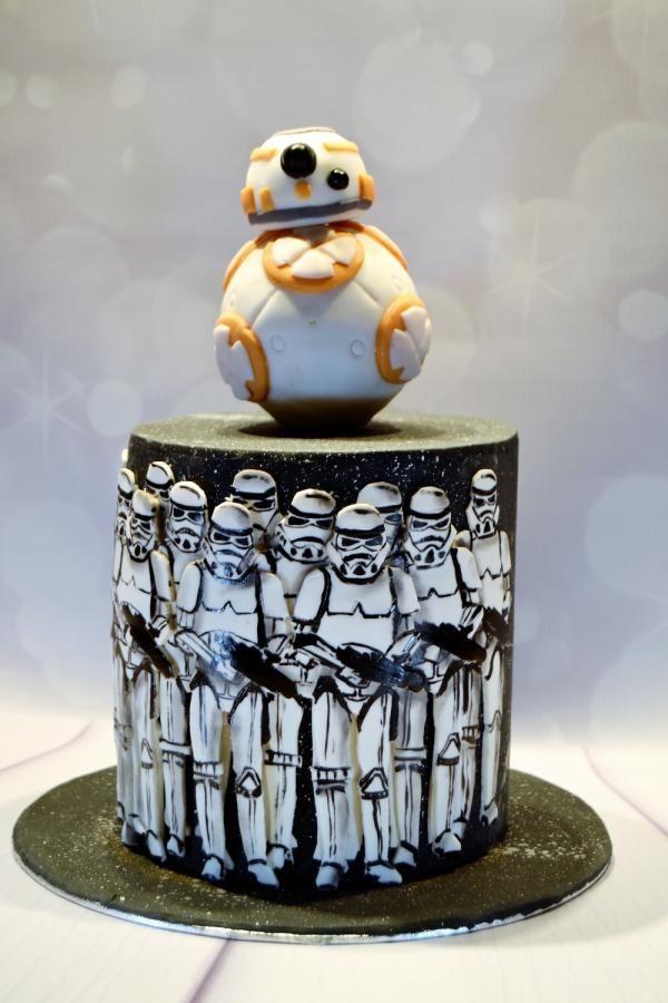 Starwars In 2019 Star Wars Cake Cool Cake Designs