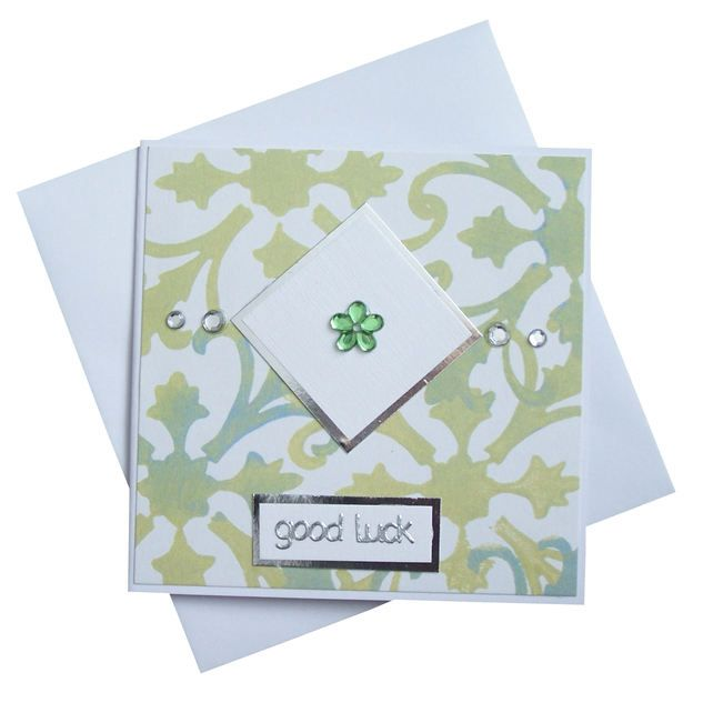 Handmade Good Luck Card £1.50