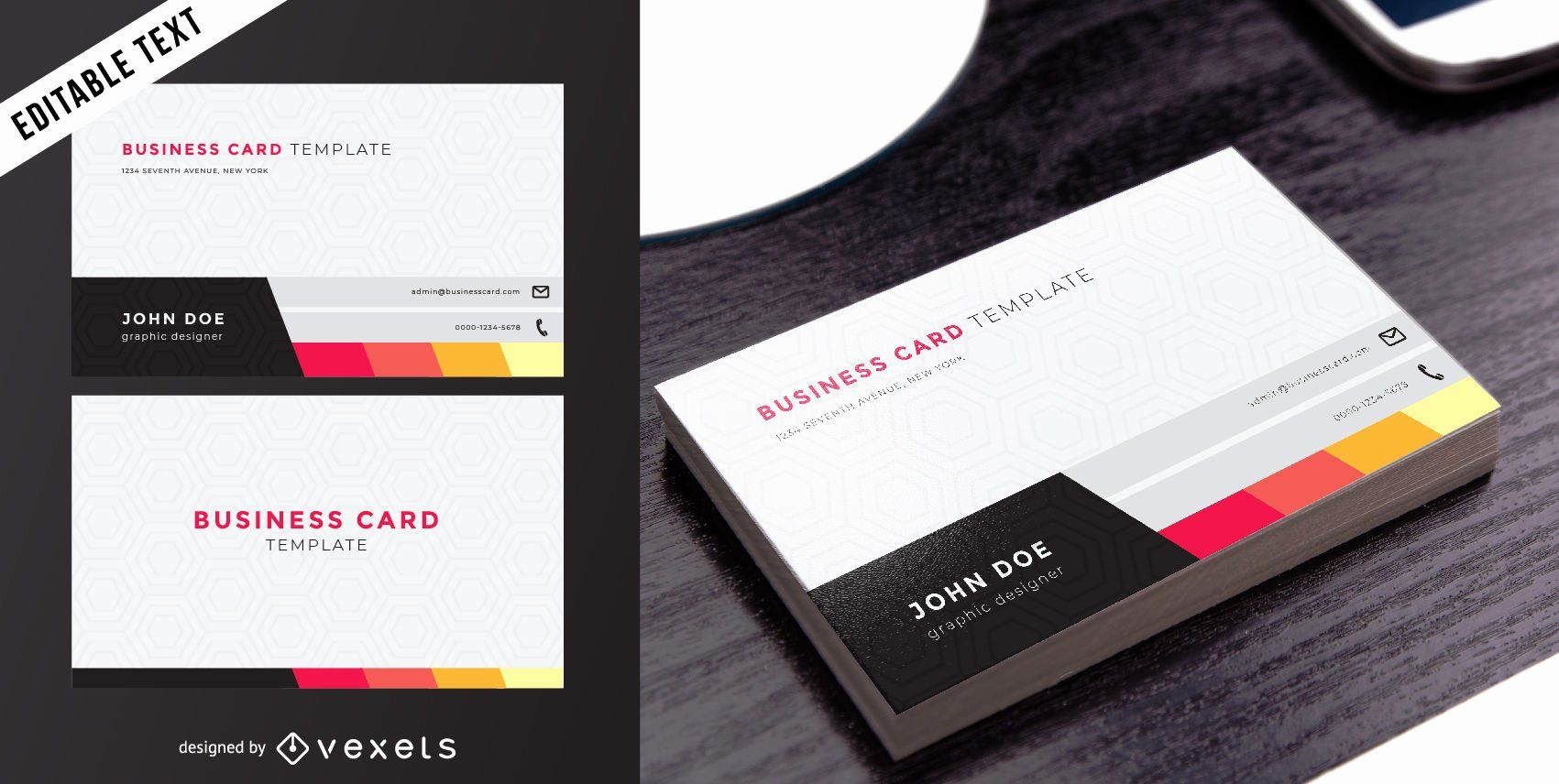 Double Sided Business Cards Templates Best Of Classy Two Sided Business Card Vec Business Card Template Word Business Card Template Double Sided Business Cards