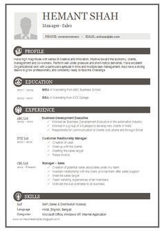 Resume Templates For Free Download Resume Format Free Downloadresume Examples Free Resume Templates .