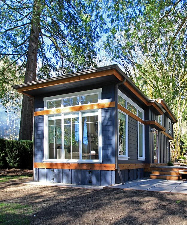 Salish by west coast homes west coast tiny houses and house for Small house plans that live large
