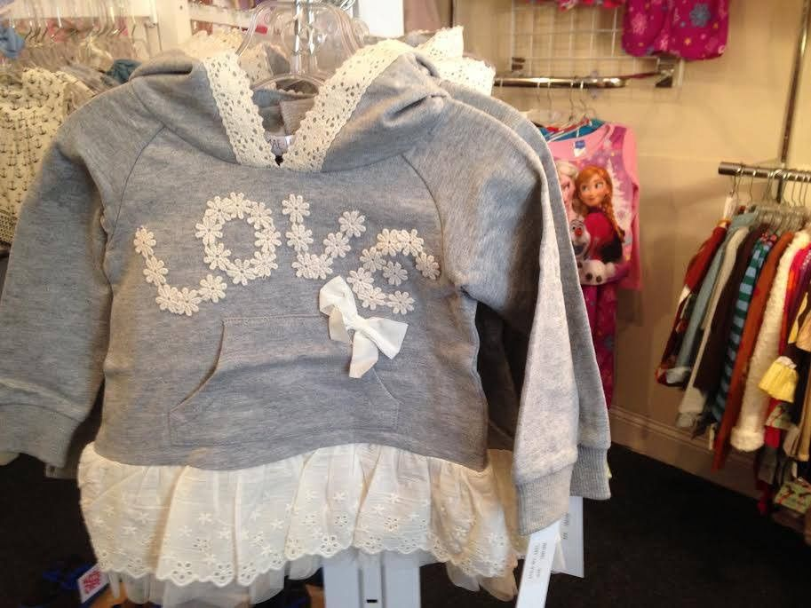 An adorable outfit for a little girl.  Available at Villavillekula