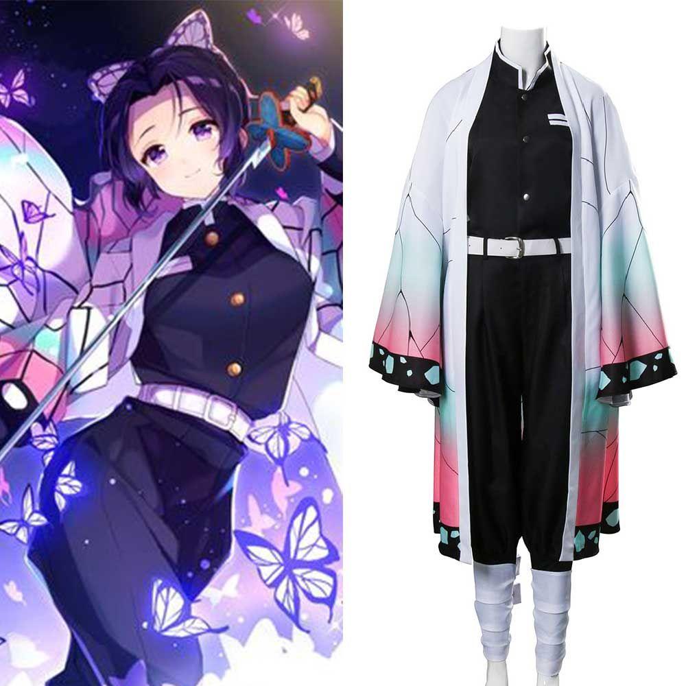 Demon Slayer Kimetsu No Yaiba Kochou Shinobu Cosplay Costume Takerlama In 2020 Cosplay Costumes Costumes Cosplay