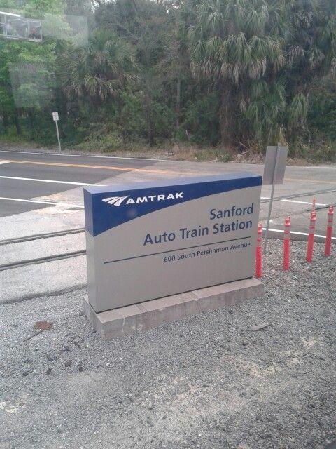 Sanford Train Station in Sanford, Florida