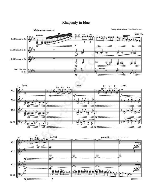 Free Sheet Music : Gershwin, George