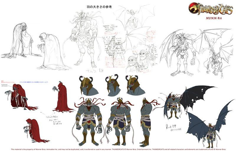 Nbos Character Sheet Designer Review : The dork review new thundercats model sheets character