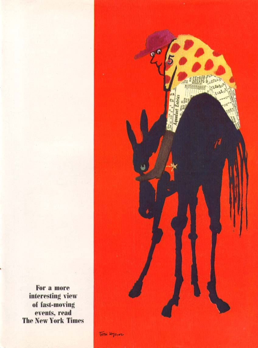 Mr Tomi Ungerer Fairytale Illustration Tomi Vintage Illustration