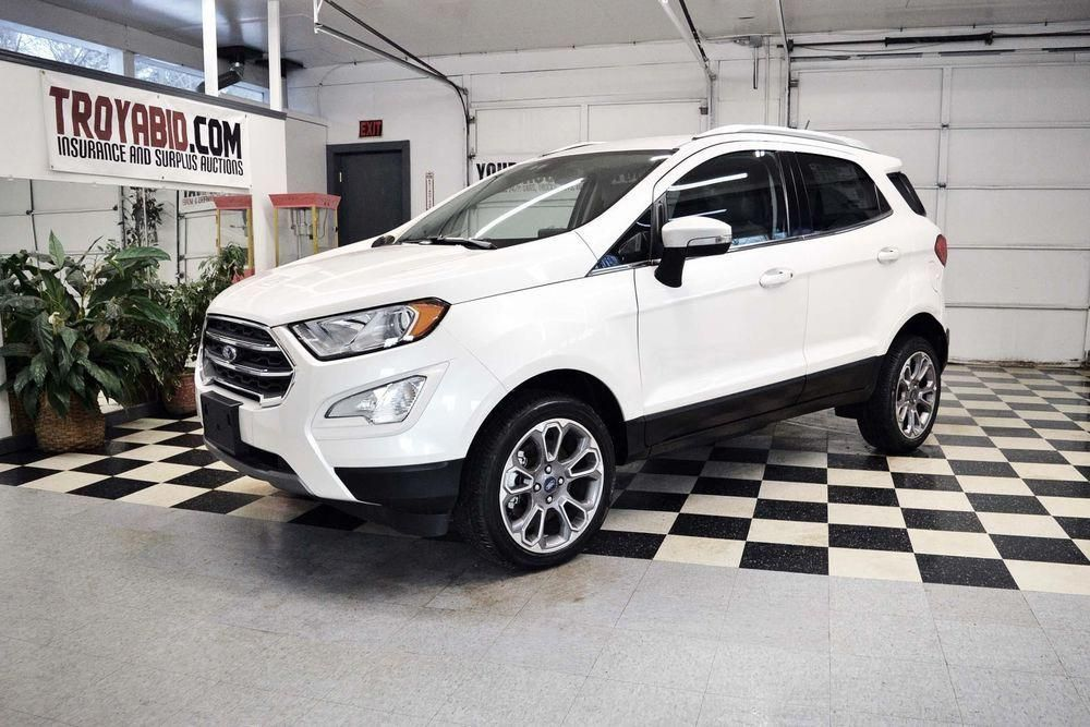 Ebay 2018 Ford Ecosport Best Offer 2018 Ford Ecosport Awd Titanium 1k Miles Rebuildable Suv Repairable Damaged Ford Ecosport Auto Repair Suv