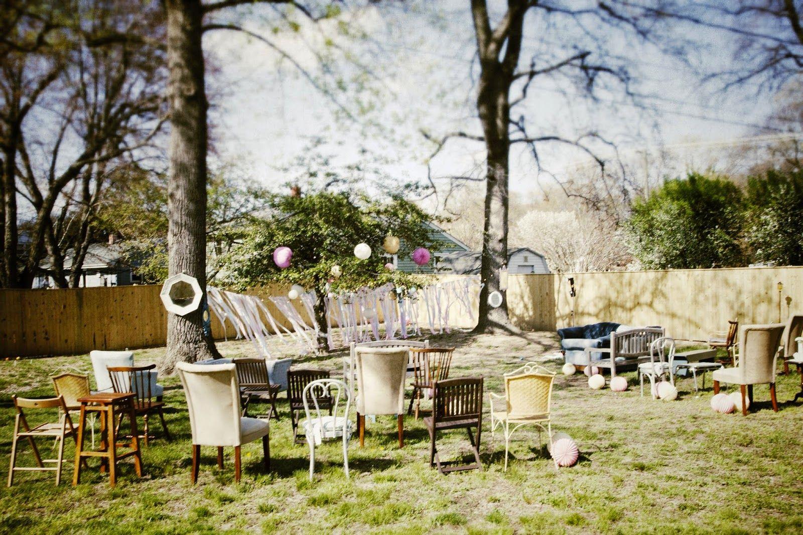 Lola, Tangled: DIY Vintage Backyard Wedding On A Tiny Budget | Mis Matched